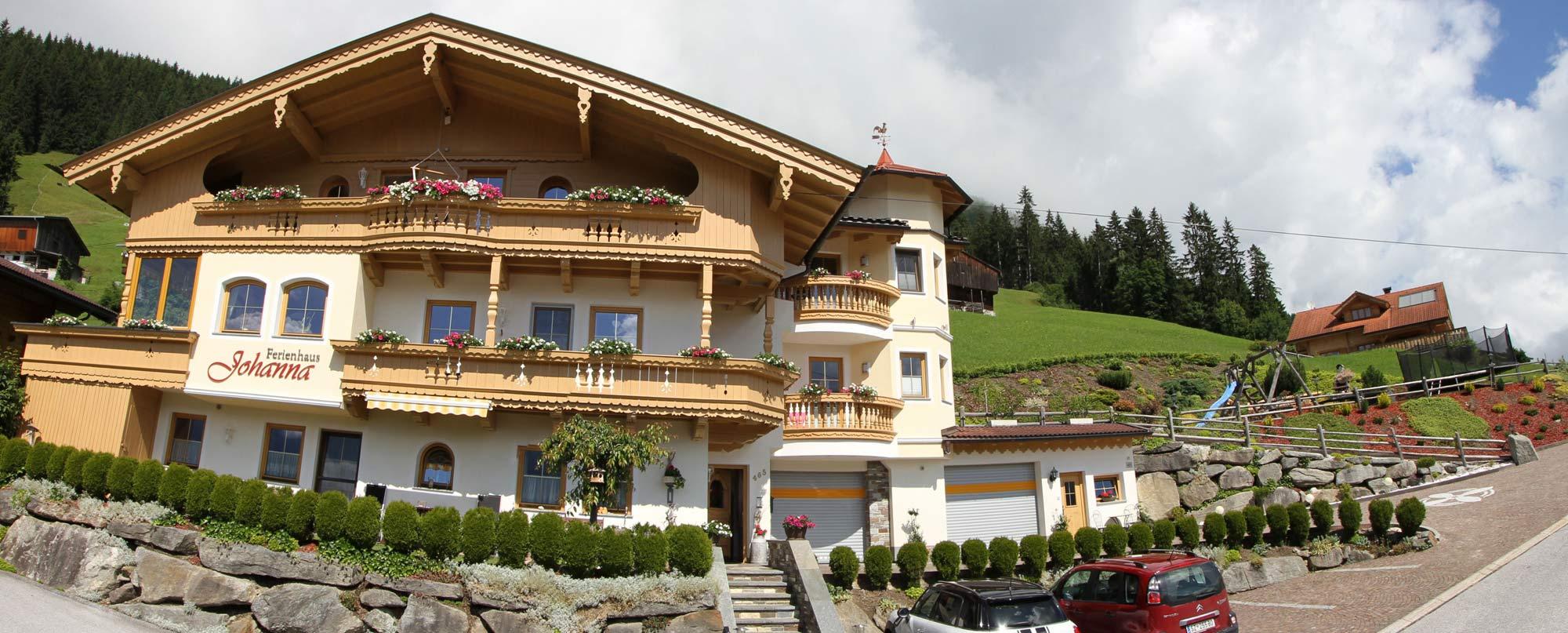 Ferienhaus Johanna im Zillertal Ferienwohnungen in der Ferienregion Hippach-Mayrhofen