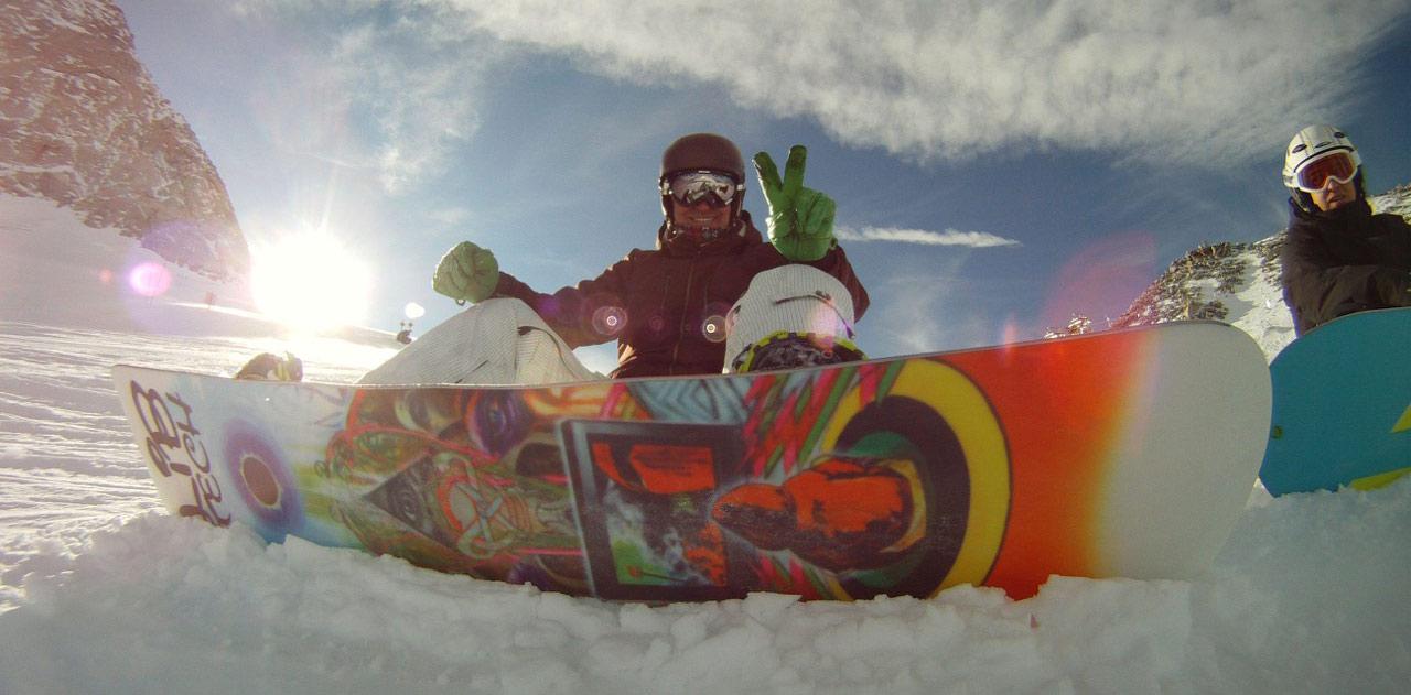 Snowboarden für Groß und Klein
