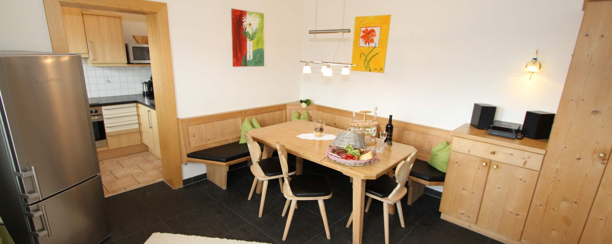 Apartment Sonne Küche Der Küche ist voll ausgestattet