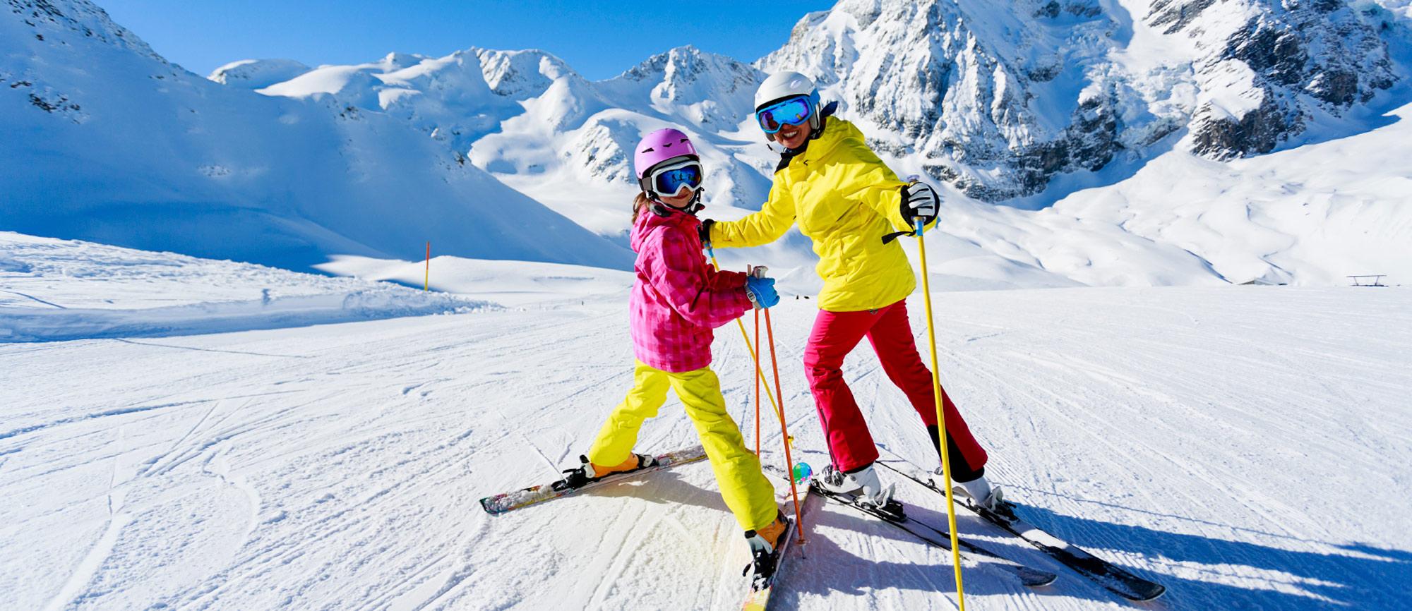 Skischule  Skiverleih