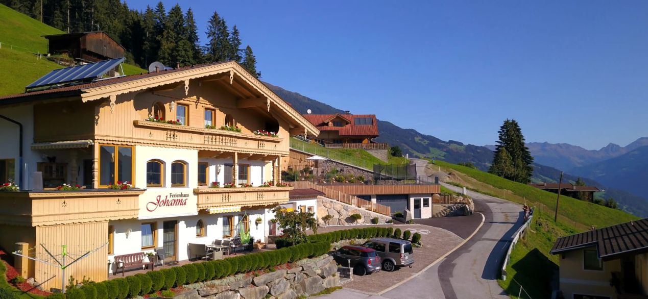 Holidayhouse Johanna in Zillertal Holiday apartments in the holiday-region Hippach-Mayrhofen