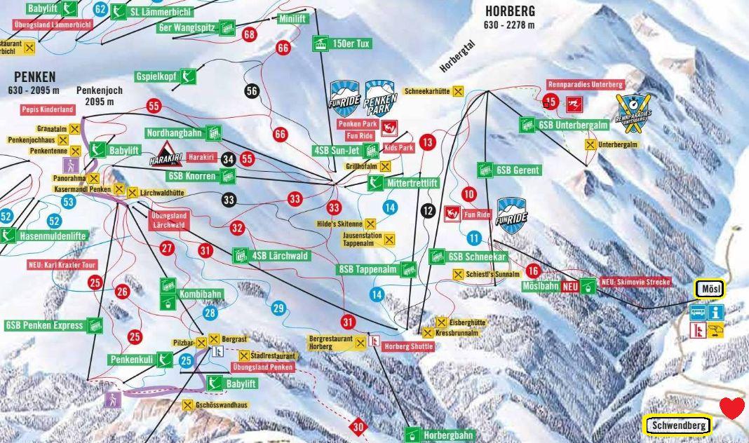 Ferienwohnung Hochschwendberg-Schwendberg ➽ Penken Mayrhofen Direkt vom Schwendberg ins Skigebiet Penken mit der neuen Möslbahn!
